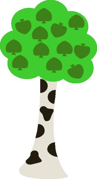Cartoon Tree clip art - vector clip art online, royalty free ...