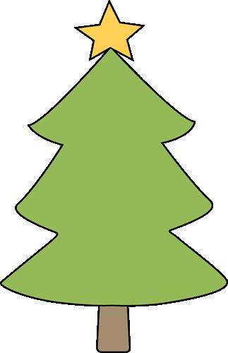 Blank Christmas Tree Clip Art - Blank Christmas Tree Image