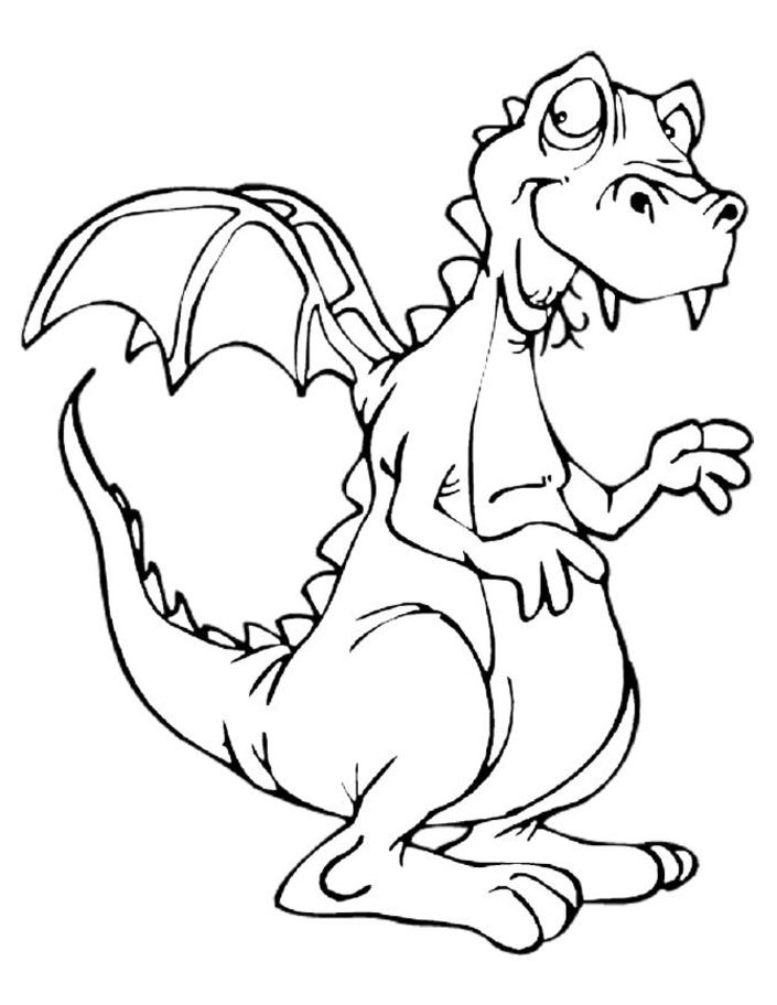 friendly chinese dragons coloring pages - photo#12