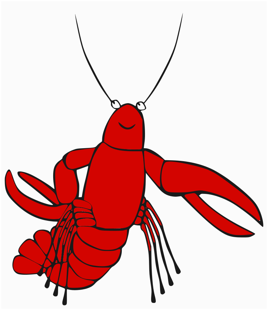 funny lobster clipart - photo #5
