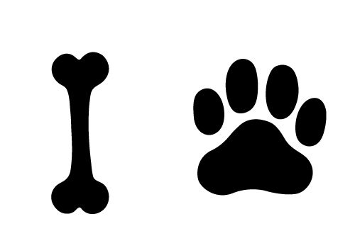 Dog bone vector free download - photo#11