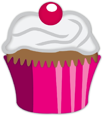 Clipart Birthday Dancing Cake : Cup Cake Clip Art - Cliparts.co