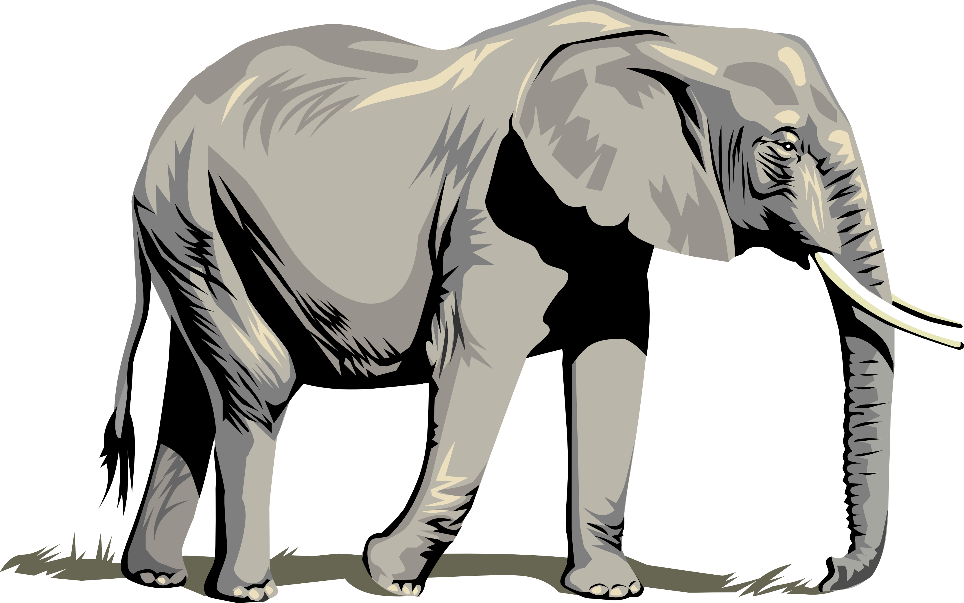 Elephant Vector Art - Cliparts.co