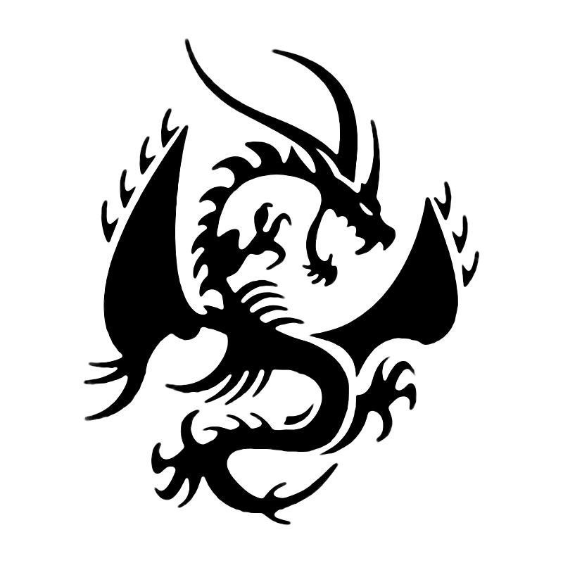 Dragon head clip art