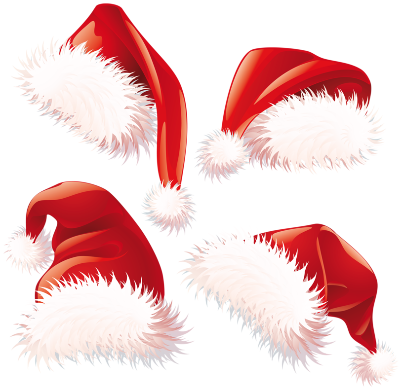 santa hat clipart with transparent background - photo #19