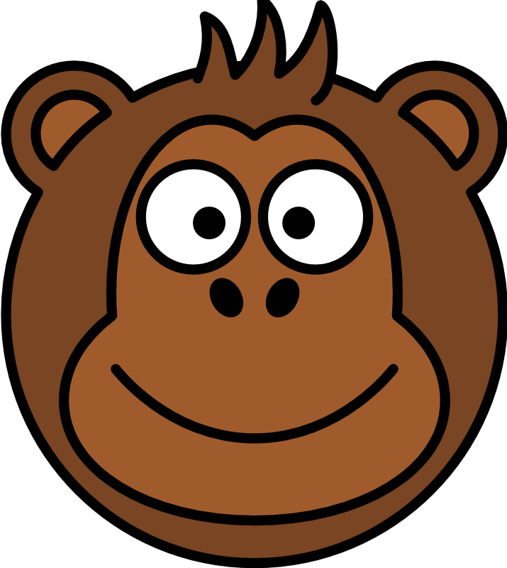 Picture Cartoon Monkey - Cliparts.co