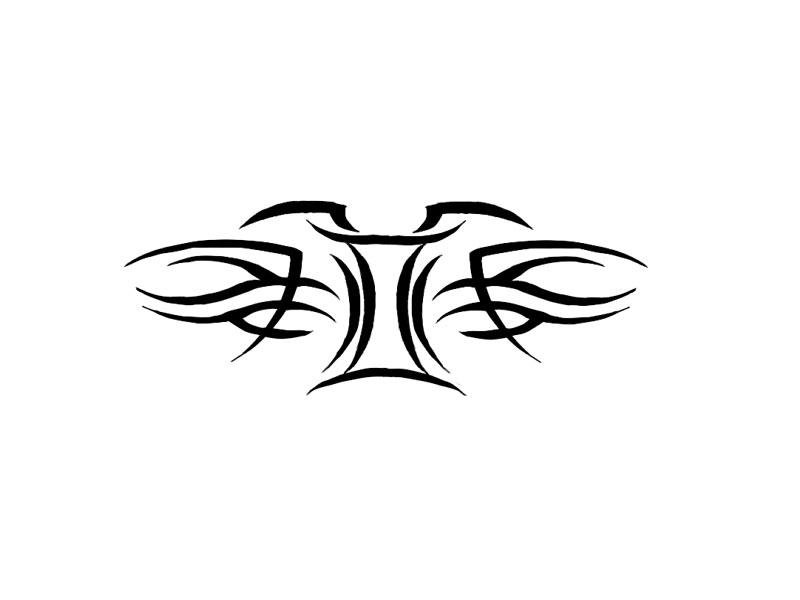 gemini zodiac tribal tattoo wallpaper hd skilal 66772