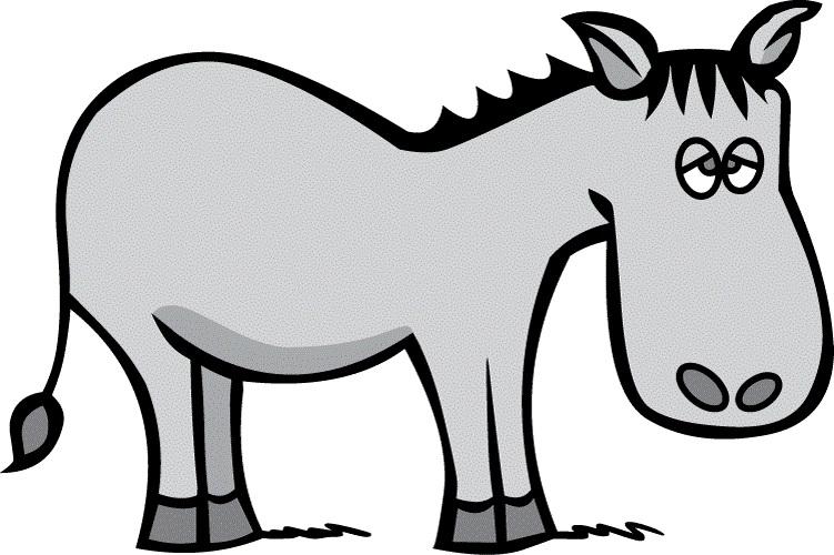 Donkey Cartoon Clip Art - Cliparts.co