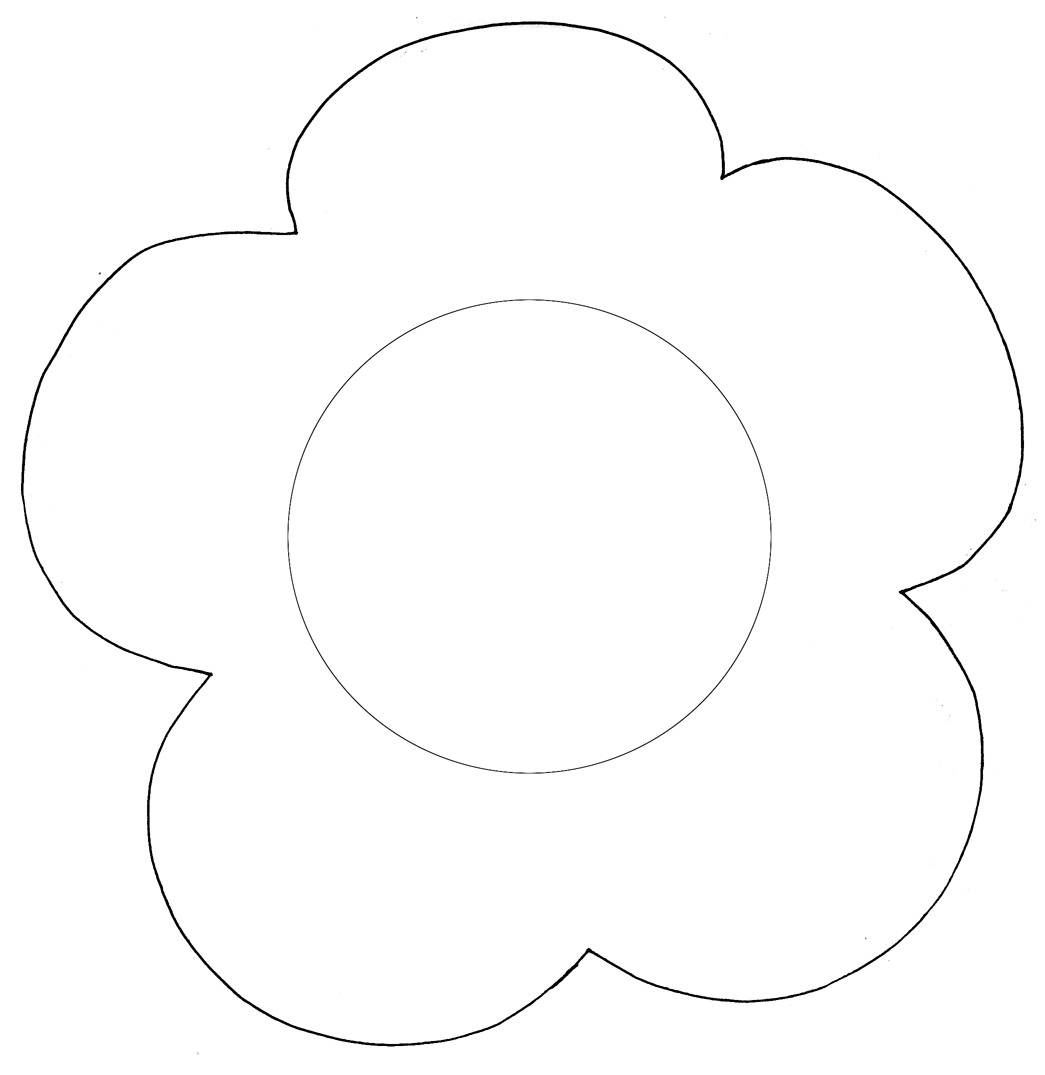 Daisy Flower Template - Cliparts.co