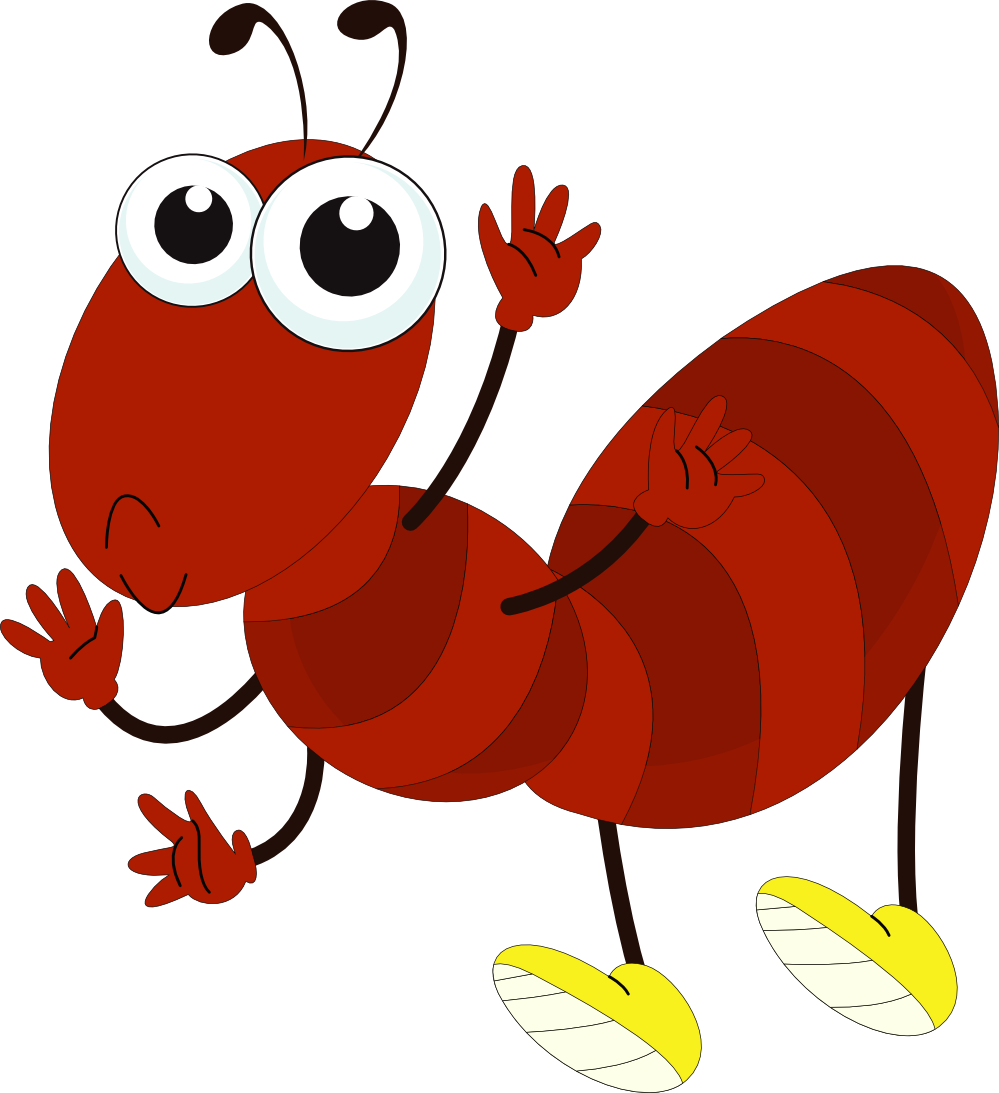 clipartist.net » Clip Art » Cartoon Ant clipartist.net SVG