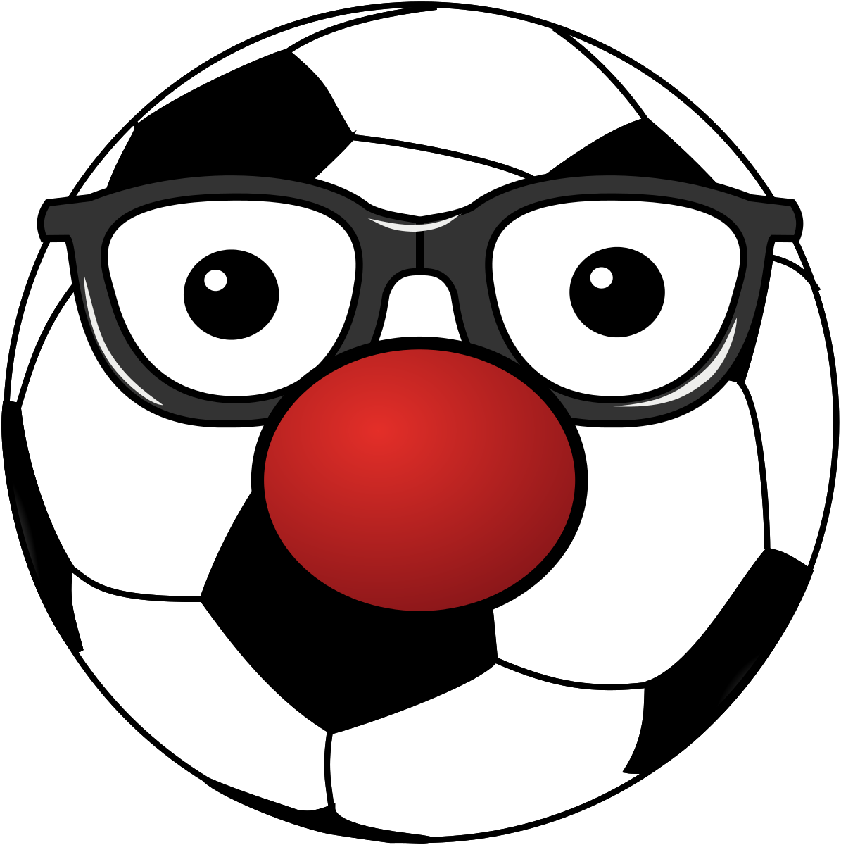 Clowny Soccer Ball Clipart by contactr : Sport Cliparts #19228 ...