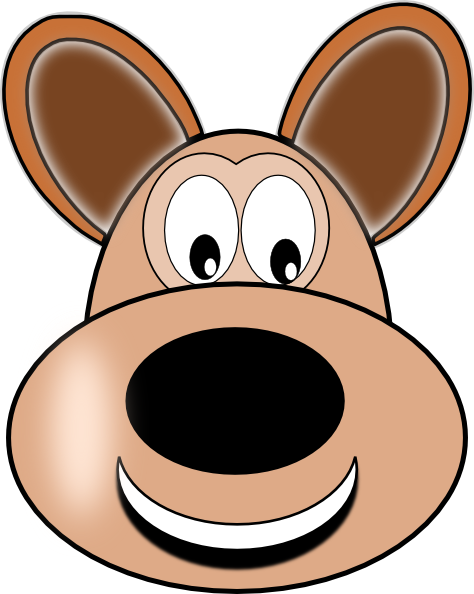 Happy Dog Face Clip Art | Clipart Panda - Free Clipart Images