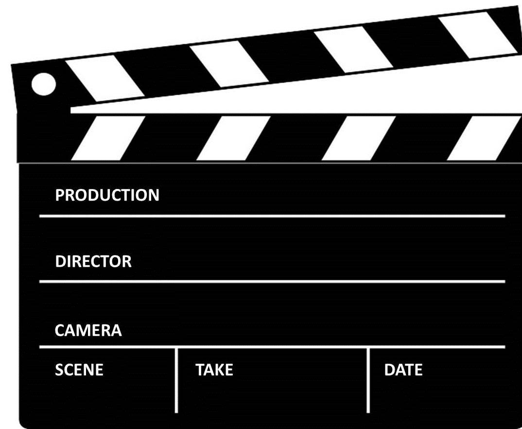 Real Art Design Group : Director movie reel clip art free clipart vector design