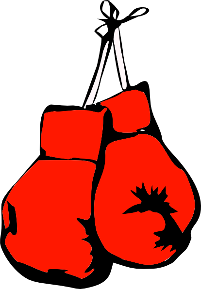 Boxing Gloves clip art - vector clip art online, royalty free ...