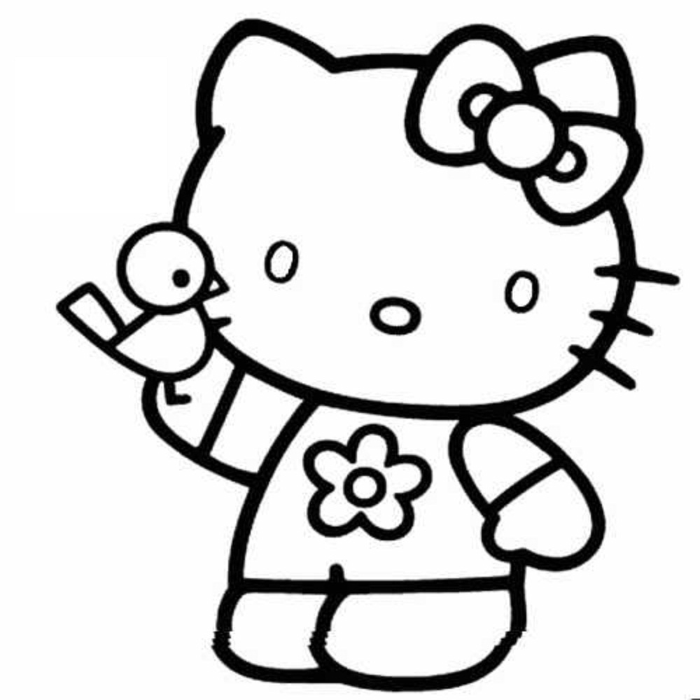 Hello Kitty Coloring Pages (2) | Coloring Kids