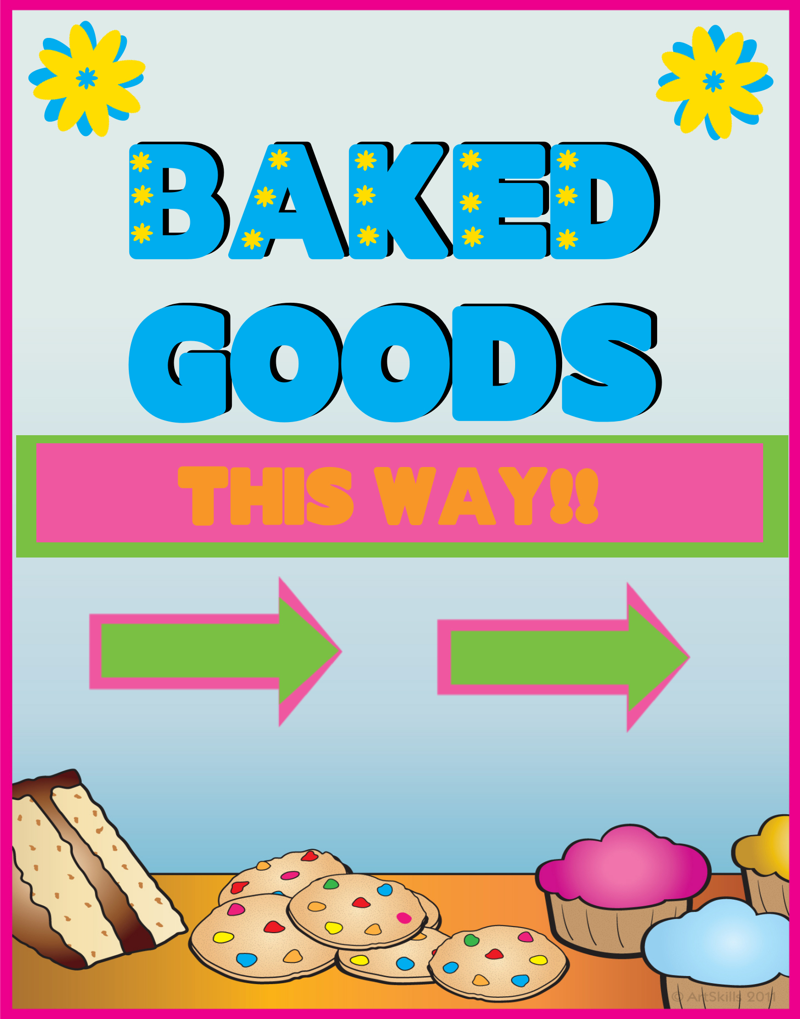 printable bake flyers co online poster gallery poster project ideas poster making pin printable bake
