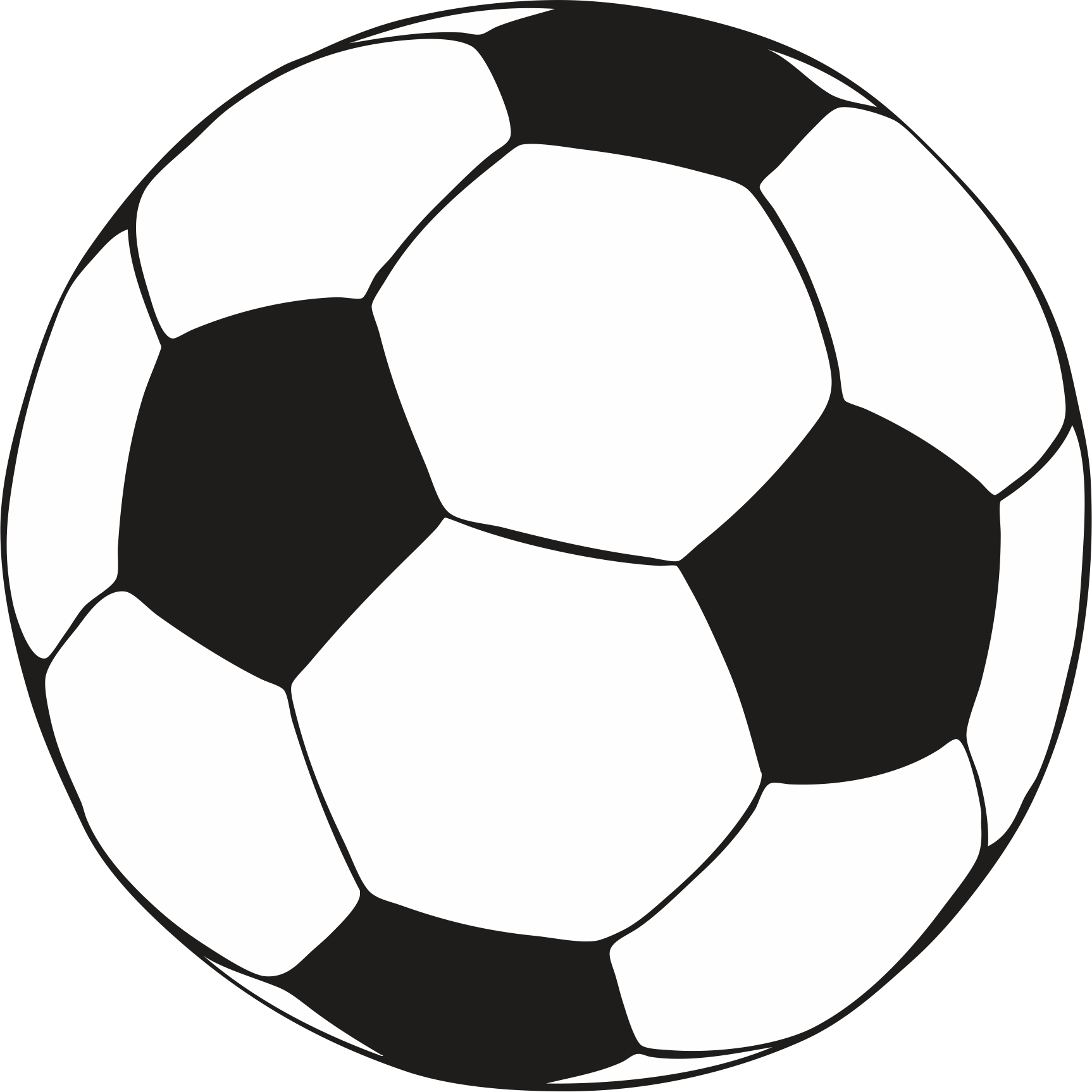 Sizzling image pertaining to printable soccer balls