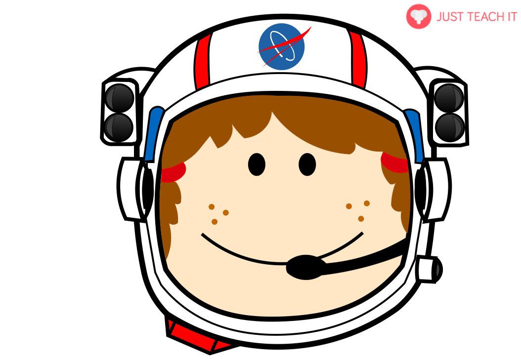 Space Astronaut Face Helmets | Just Teach It - Cliparts.co