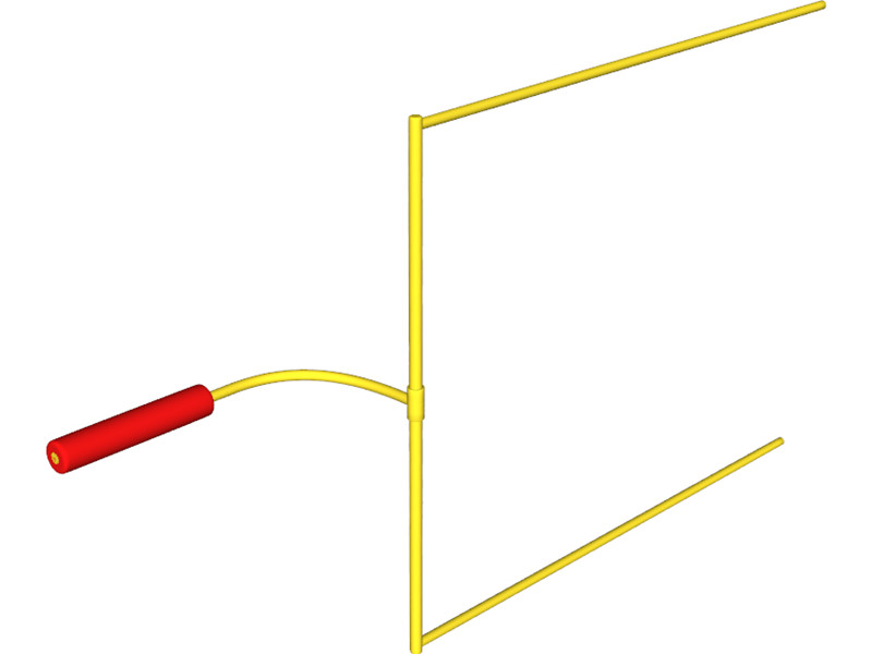 Clipart Football Goal Post