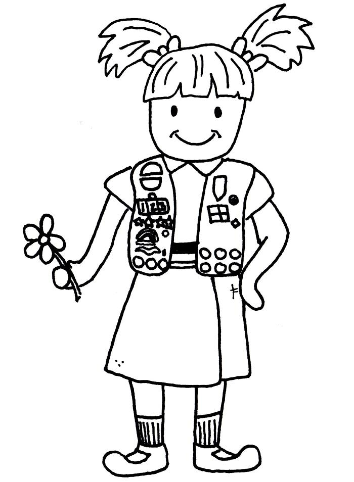 Girl Scout Brownie Clip Art - Cliparts.co