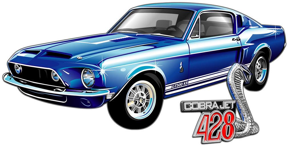 Mustang Cobra Jet >> Ford Mustang Logo Vector - Cliparts.co