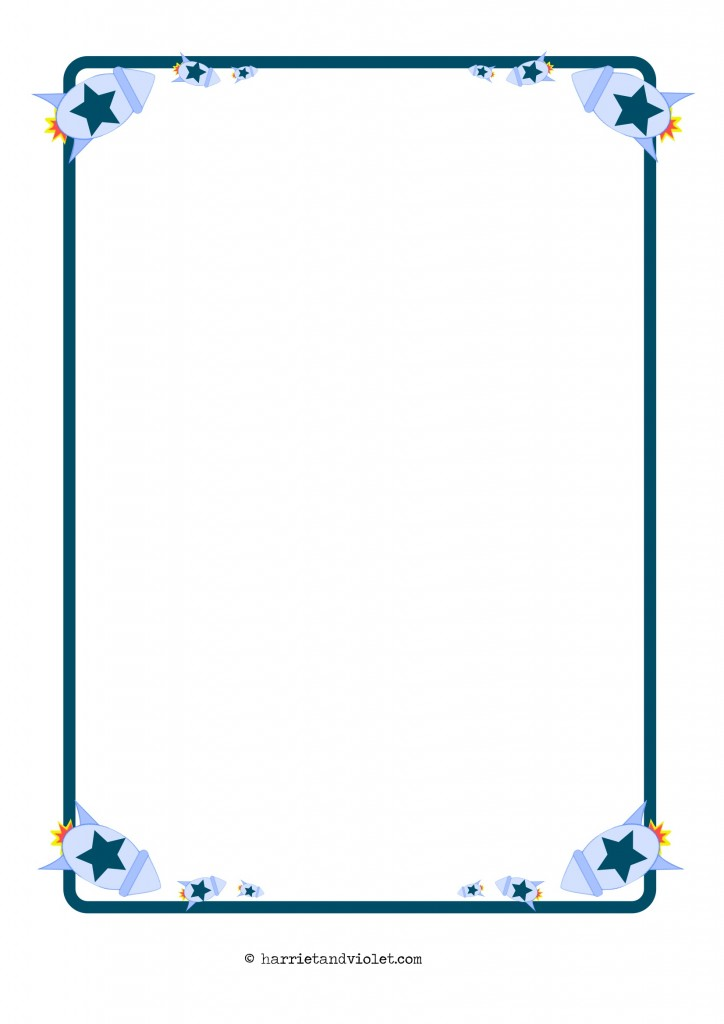 A4 size paper borders designs the image for Paper border