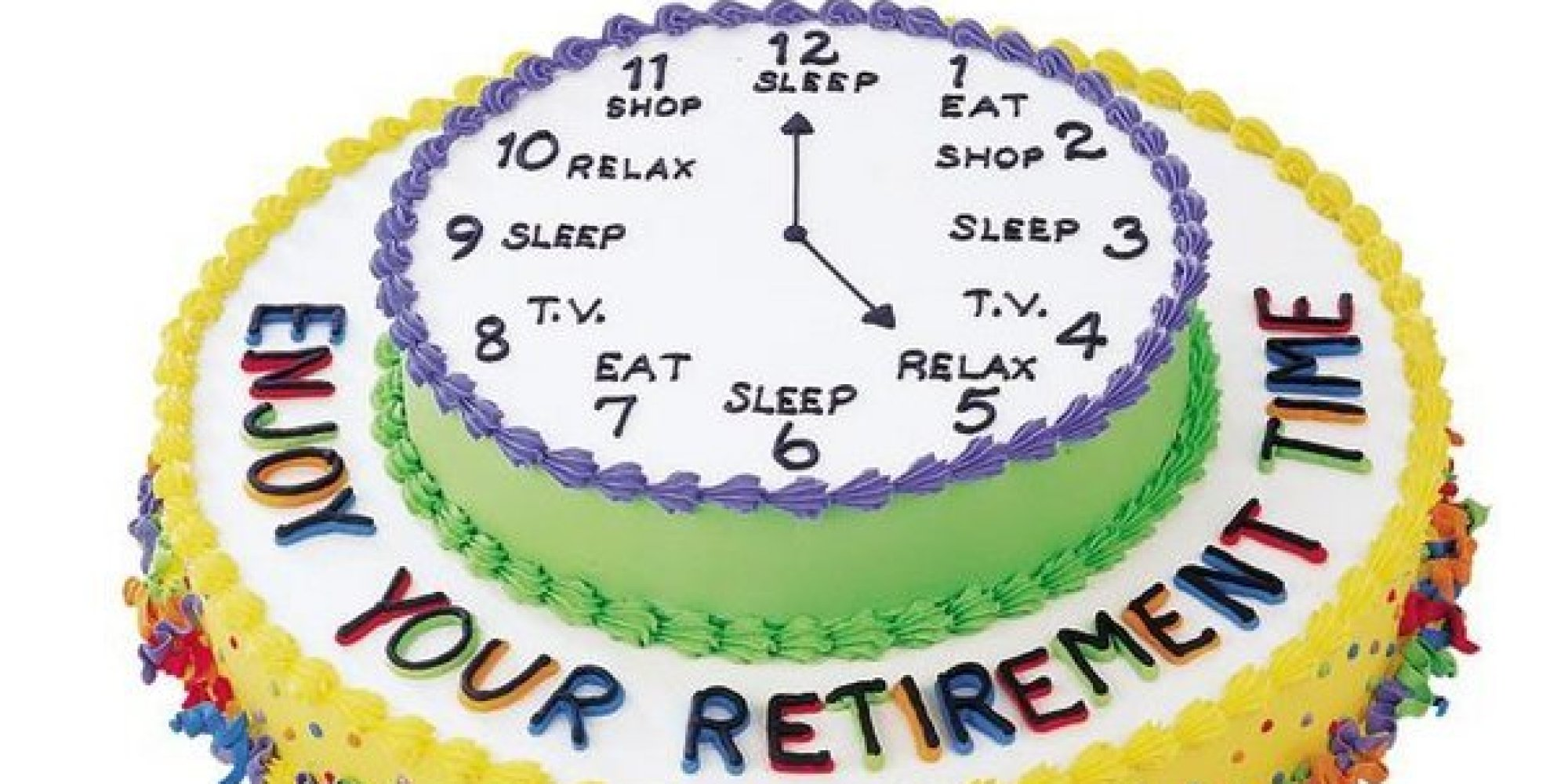 Retirement Cake Pictures