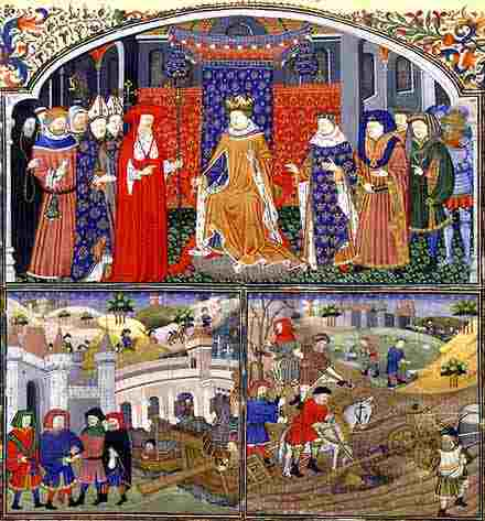 The feudal system in medieval Europe a sustainable form of g by ...
