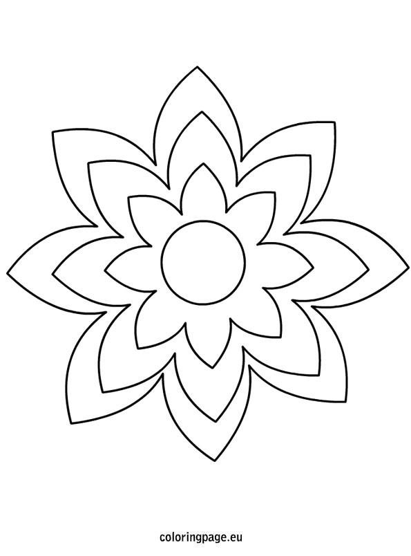 Flower Petal Template  20 Free Word PDF Documents