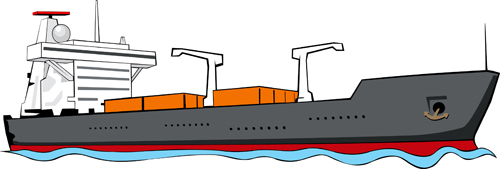 clipart container ship - photo #29