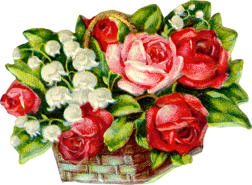 free victorian birthday clip art - photo #44