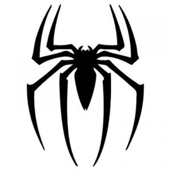 coloring pages spiderman easy symbol - photo#11