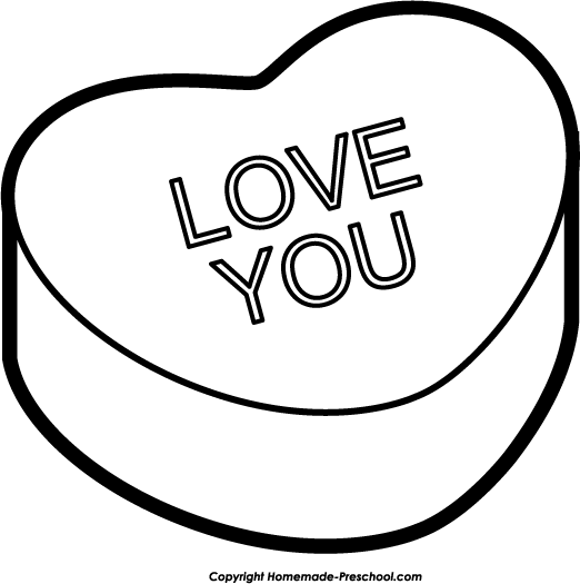 Valentine Clip Art Black and White 2014 | Download Free Word ...