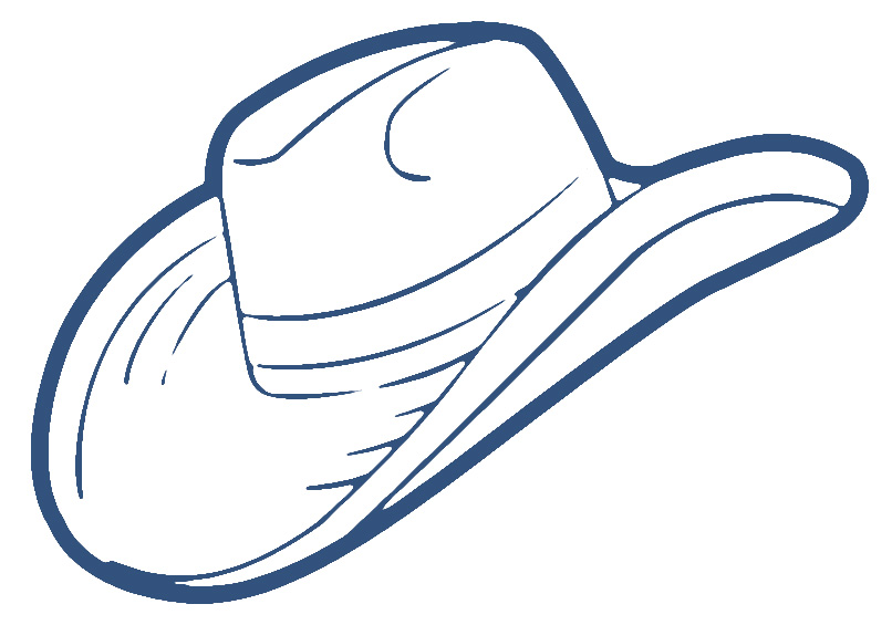 cowboy hat clipart free - photo #22