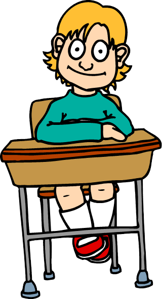 Student Desk Clip Art