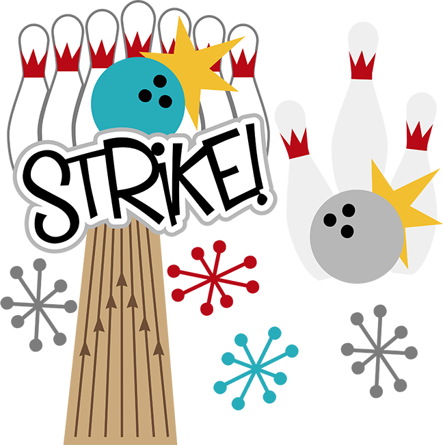 Bowling Strike Clip Art - Cliparts.co