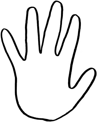 Printable Handprint Te...