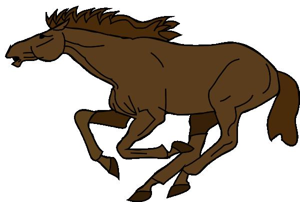 Running Horse clip art - vector clip art online, royalty free ... Running Horse Png