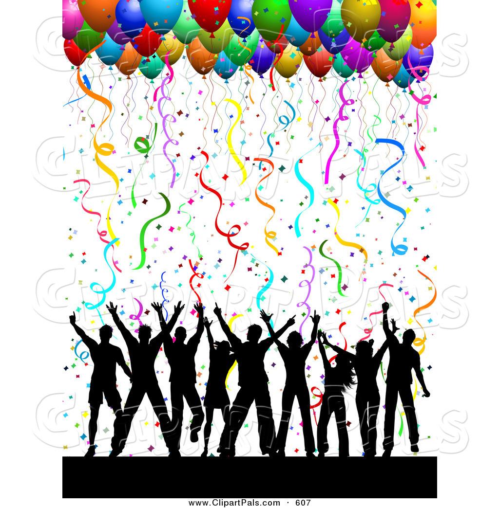 free clip art balloons celebration - photo #12