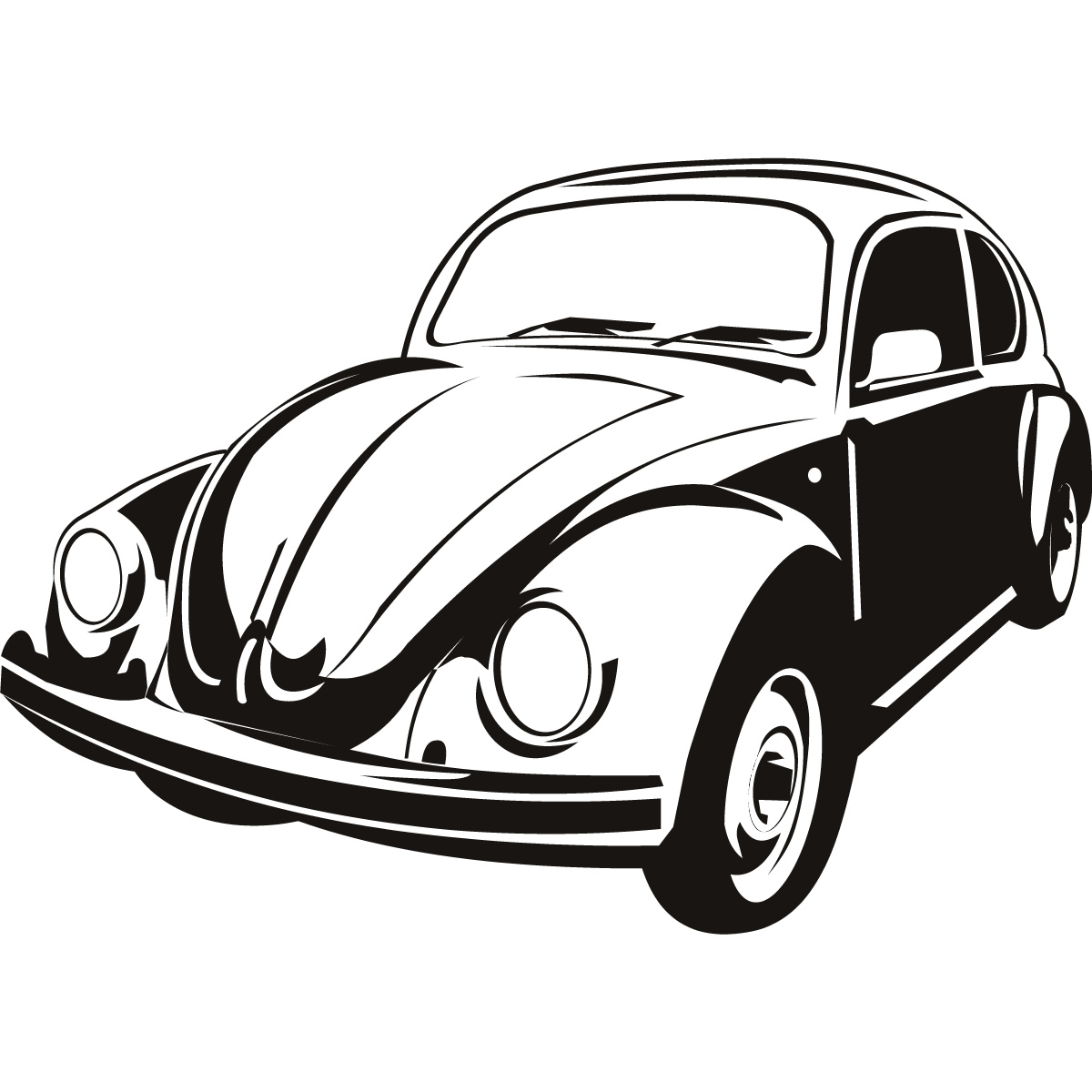 Vw Bug Clipart on rat rod cars