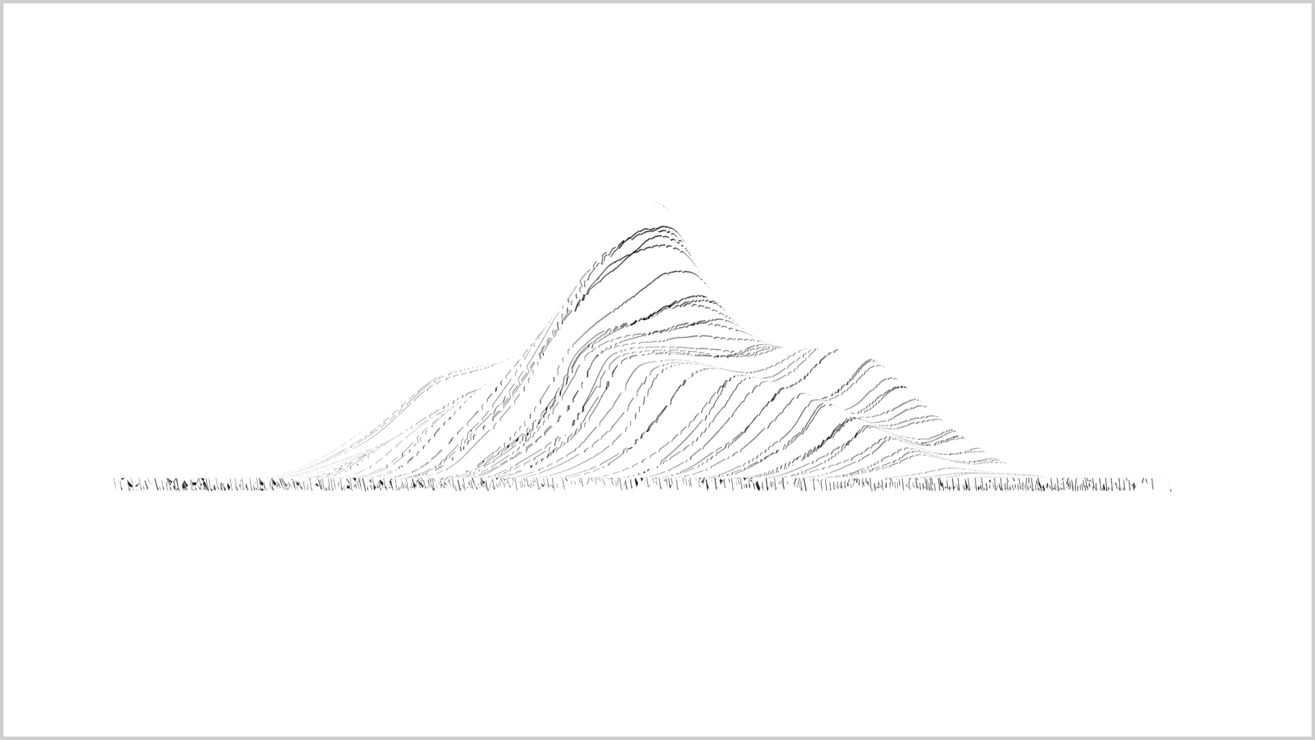Line Art Mountains : Mountain line drawing gallery