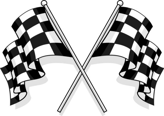 free race car flag clip art - photo #4