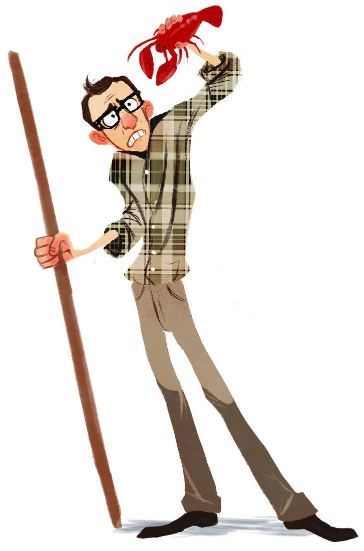 Woody Allen 2 by Harpy...