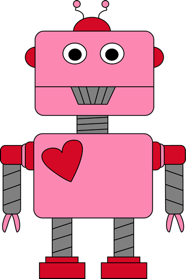 animated robot clipart - photo #38
