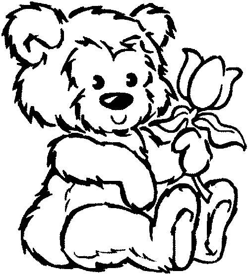 bear coloring pages sparklebox free - photo#12