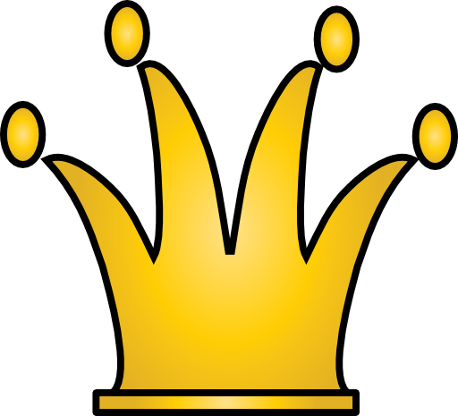 Pix For > Yellow Crown Clipart