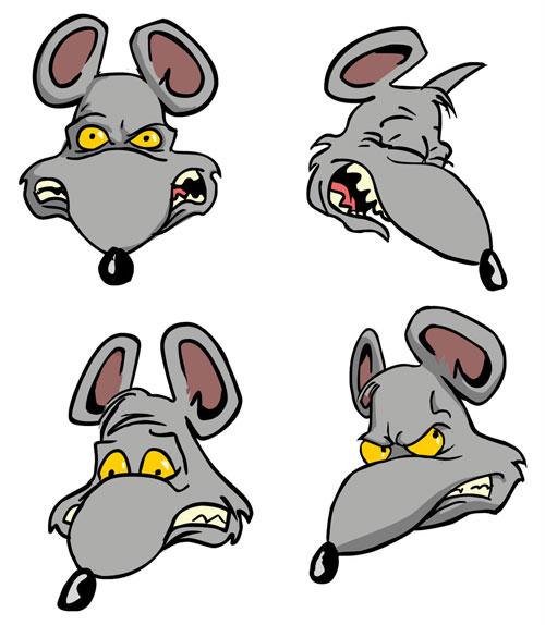 Rats drawing cartoon - photo#4