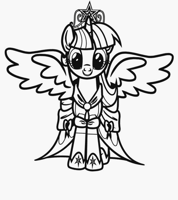 Coloring Pages My Little Pony Free Printable Coloring Pages Cliparts Co