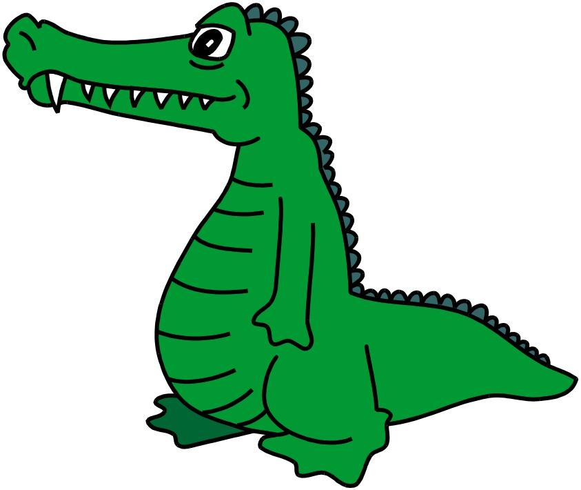 free animated alligator clipart - photo #49
