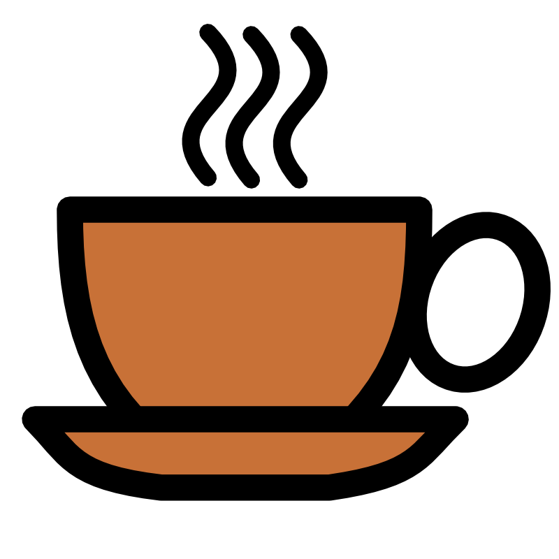 Clipart - Coffee cup icon
